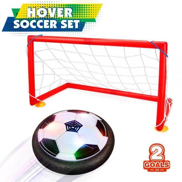 Betheaces Kids Toys Hover Soccer Ball Set 2 Goals