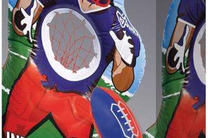 Inflatable Football Target Set