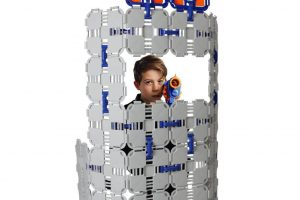 Blaster Boards - Kids Fort Building Kit for Nerf & Creative Play