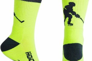 Hockey Half Cushioned Crew Socks