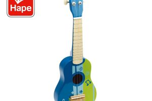 Kid's Wooden Toy Ukulele in Blue