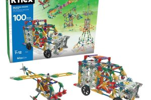 K'NEX 100 Model Building Set - Engineering Educational Toy