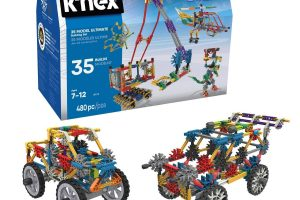 K'NEX – 35 Model Building Set - Engineering Educational Toy