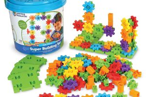 Gears! Super Building Toy Set