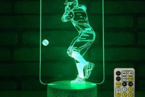 Baseball LED Lamp