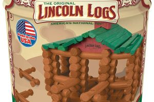 LINCOLN LOGS – Ages 3+ Construction Education Toy