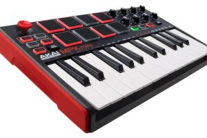 Professional MPK Mini MKII | 25-Key Portable USB MIDI Keyboard