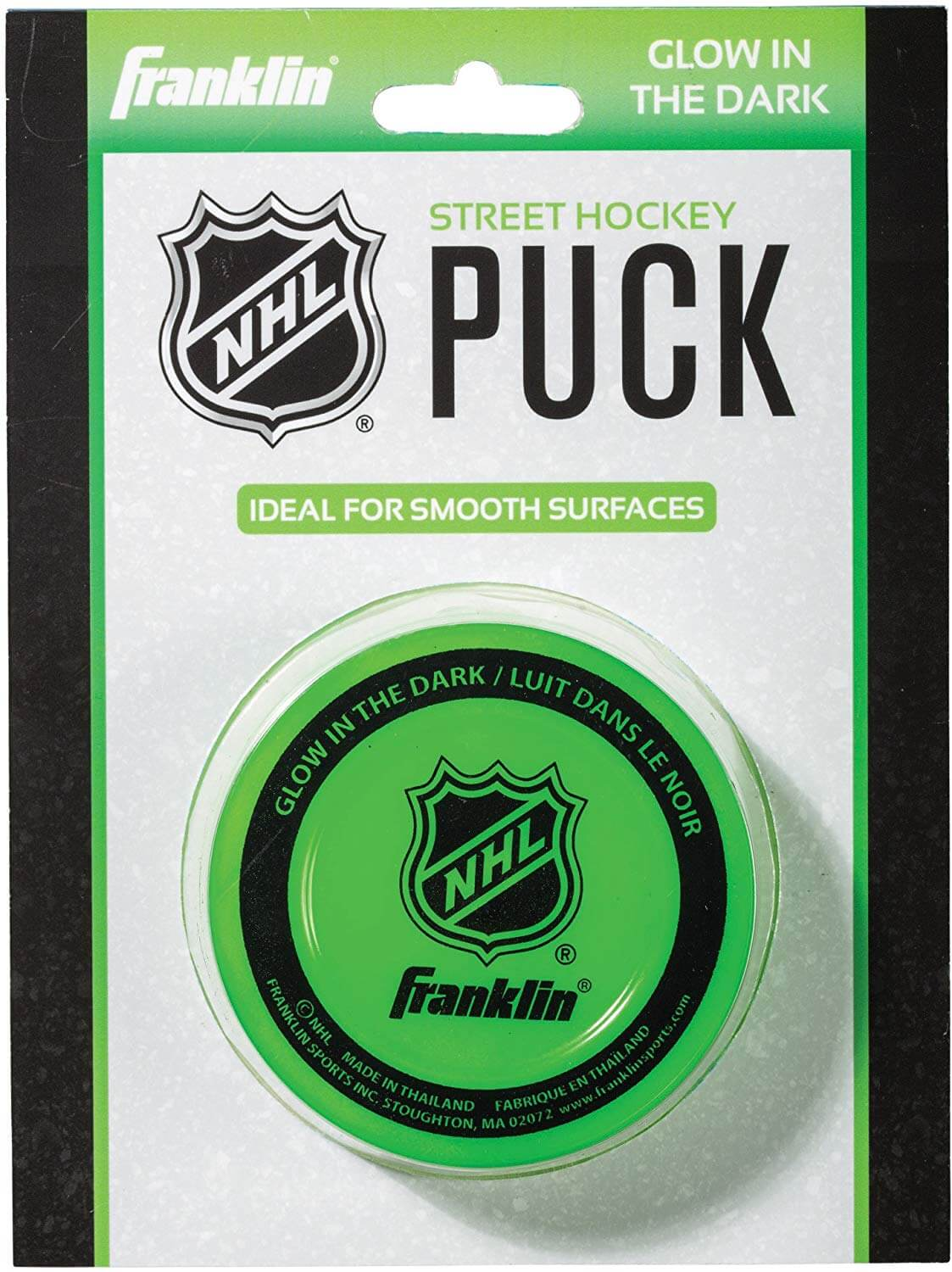 Hockey Puck - Glow in The Dark - NHL