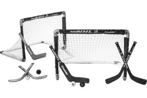 Mini Hockey Goal Set of 2 – Play Knee-Hockey Anytime, Anywhere