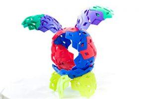 IKOS -Multi-Color Rainbow- Spherical Building Blocks