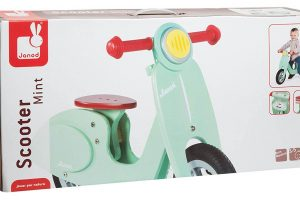 Janod Scooter Mint Balance Bike Ride On