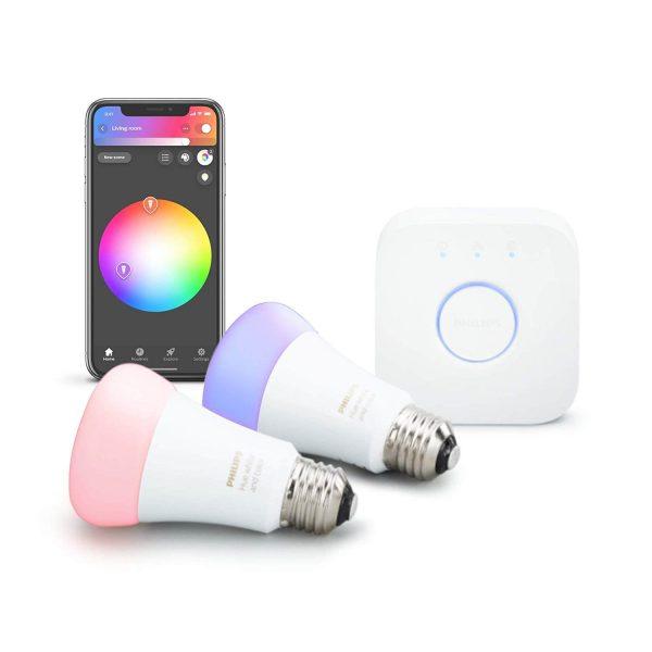Philips Hue 2-Pack Premium Smart Light Starter Kit
