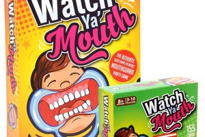 Watch Ya' Mouth Party Card Game
