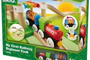 My First Railway – Wooden Toy Train Set for Kids