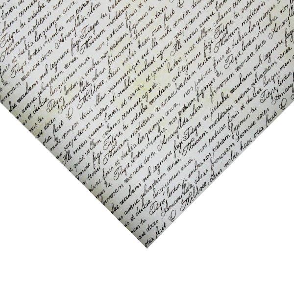 Hartie pentru ambalat cadouri Retro 200x70 cm text