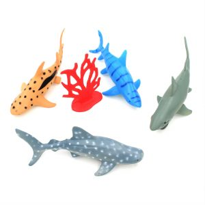 Set figurine jumbo 5 piese Sharks