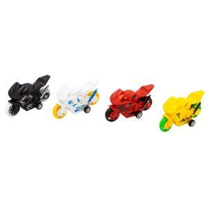 Set vehicule motociclete jucarie 4 buc V2