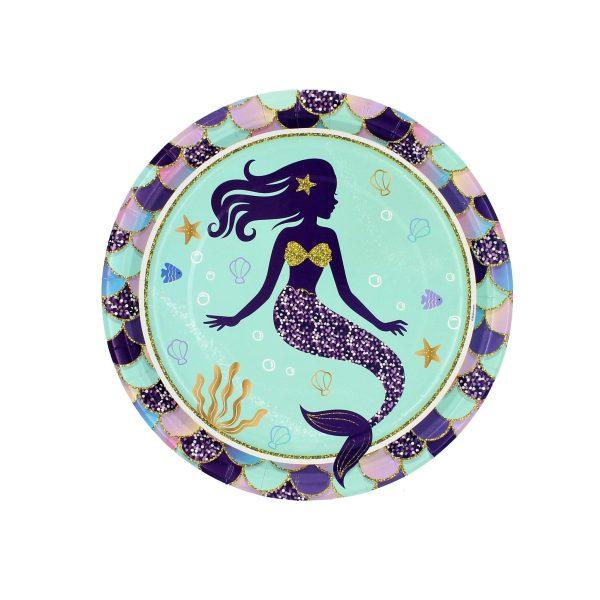 Set 8 farfurii 23 cm Sirena