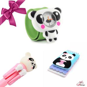 "Set promotional Gift Design fete ""Panda"""