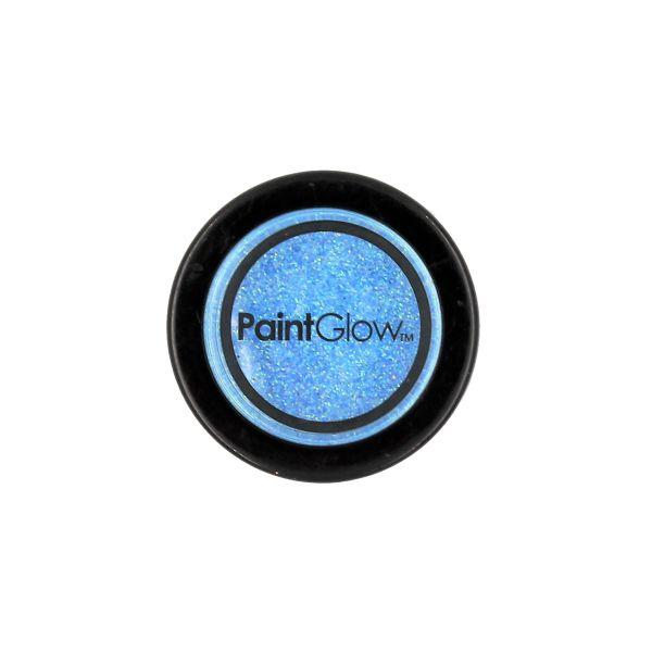 Glitter Ice Blue PaintGlow UV Reactive