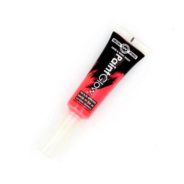 Vopsea față-corp 13ml Neon UV-Pro roșu
