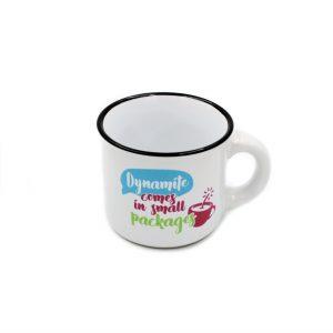 Ceșcuță espresso Dymanite comes in small packages
