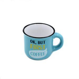 Ceșcuță espresso OK but first coffee