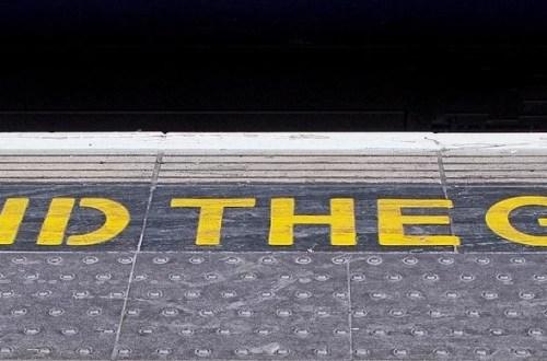 railway, platform, mind