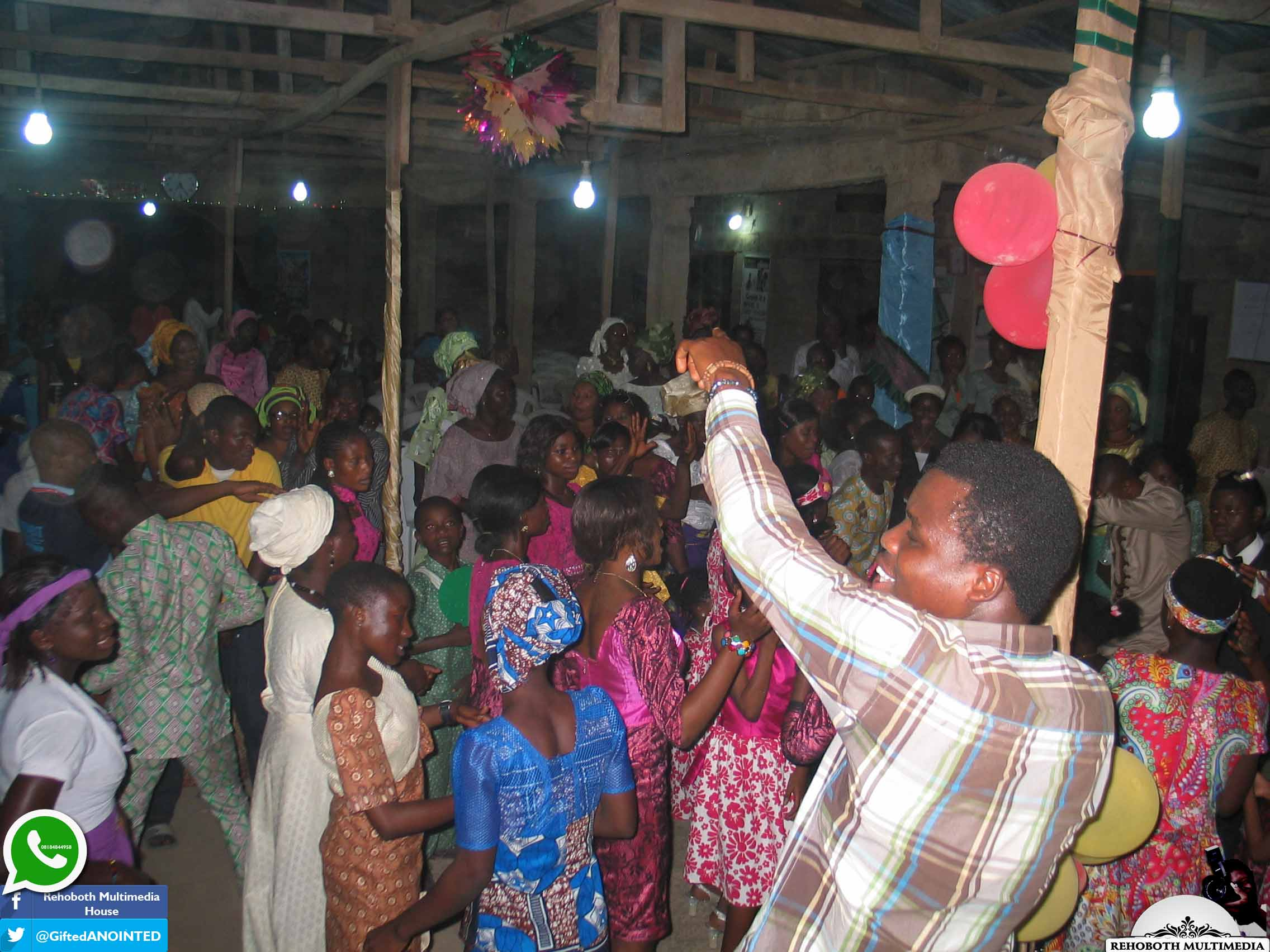 Pastor Timothy a Lara Obafemi 8TH YEAR WEDDING