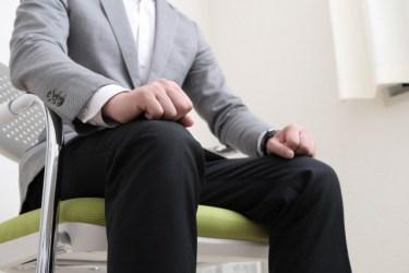 面接で注意したいマナーには椅子の座り方も!良い座り方とは