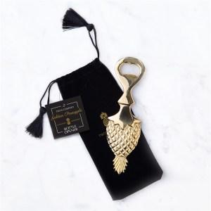 pineapple bottle opener gold heavyweight gift gifting ideas party drinkware barware bar cart hostess mostess