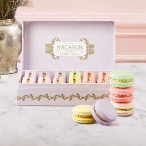 Two's Company Macaron Limoge Boxes for Travel Jewelry and Trinkets