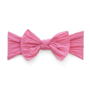 hot pink bow headband baby newborn kids children mom-to-be baby shower party labor and delivery