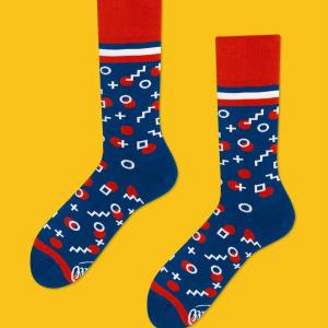 These retro dotted socks are a charming way to change up your son's sock drawer. Elegant and comfy, they are perfect to wear to a house party or to work. Makes a great present for someone that just graduated or is starting a new job. new socks men's socks dress socks work socks unmatched socks gifts for him father's day gifts