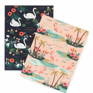 rifle paper co. notebooks notebook swans design girly bullet journal journaling present presents gifts gift gifting ideas happy birthday congrats writing poems pen pencil