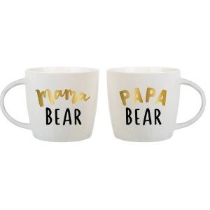 papa bear mama bear coffee mug cup morning joe new parents new baby