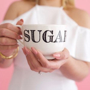 sugar darling honey endearment mug cup coffee morning joe present gift gifting idea happy birthday