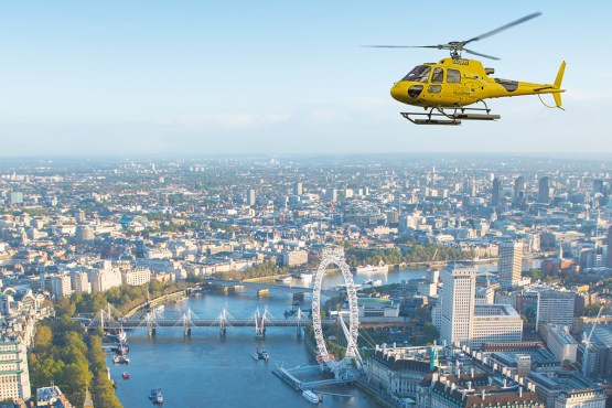 London Helicopter Buzz Tour From Battersea