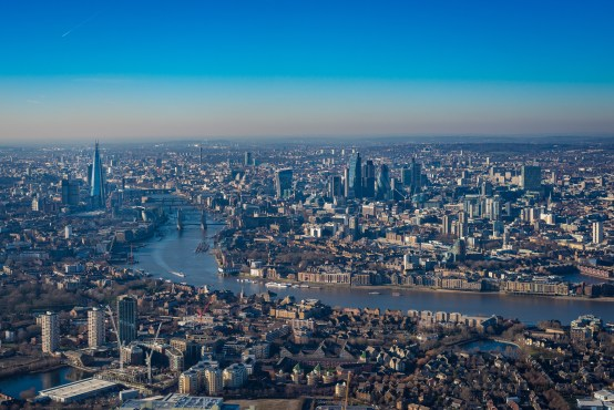 London Max Helicopter Flight from Battersea