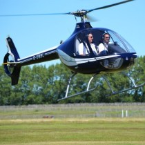 Helicopter Flying Lesson – Robinson R22 / Cabri G2