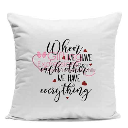 Send Anniversary Cushion To Pakistan