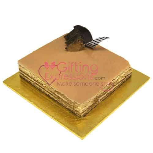 Send Cappuccino Cake From Serena Hotel To Pakistan