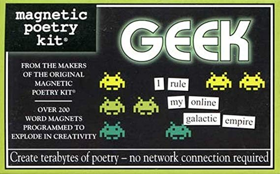 magnetic poetry geek kit