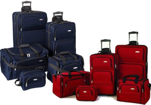 samsonite luggage set