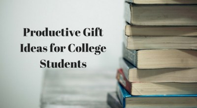 Productive Gift Ideas for College Students