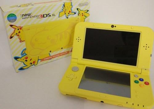 pikachu yellow nintendo