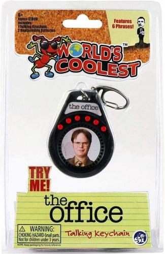 The Office Talking Keychain