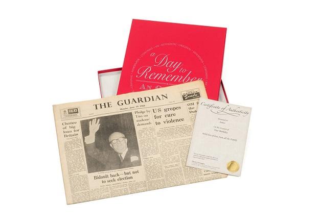 original newspaper 60 years old
