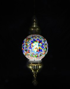 SINGLE CHAIN FANTASY STYLE BALL LAMP SIZE 30 CM (2)