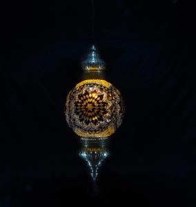 SINGLE CHAIN FANTASY STYLE BALL LAMP SIZE 30 CM (3)